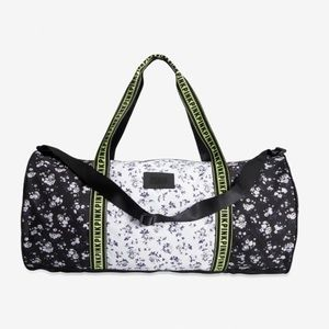 NWT floral V.S. PINK large duffle bag